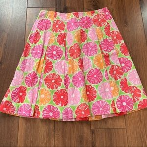 Lily Pulitzer wrap skirt size 2 GUC